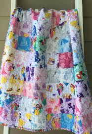 Ready to ship modern Disney princess baby quilt, toddler princess ... & Ready to ship modern Disney princess baby quilt, toddler princess quilt,  pink, purple baby quilt, baby girl quilt, modern Disney theme quilt Adamdwight.com