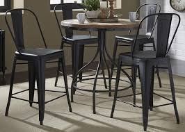 liberty furniture vintage dining series 5 piece pub table and bar stool set wayside furniture pub table and stool sets