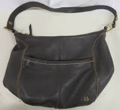 women s brown leather the sak purse