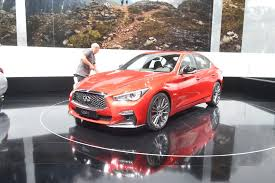 2018 infiniti g50. simple g50 on the 2018 infiniti q50 red sport 400 dark metallic trim around  exhaust cutouts with infiniti g50