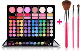 60 color makeup full color eyeshadow palette kit eye beauty makeup set 12 color lip