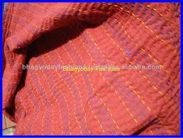 Sari Silk Patchwork Quilts Throw Vintage Kantha Quilt Indian Quilt ... & ... Sari Silk Patchwork Quilts Throw Vintage Kantha Quilt Indian Quilt  Handmade Bed covers Adamdwight.com