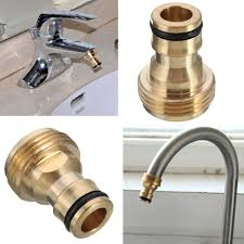 Kitchen Sink Garden Hose Adapter 1 X Do It Dual Thread Faucet Adapter To Hose Faucet Aerators And