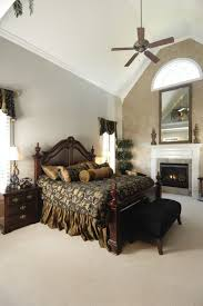 30 glorious bedrooms with a ceiling fan in fans for cathedral ceilings ideas 11