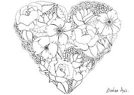 Coloring Pages For Adults Flowers Pdf Of And Butterflies Free