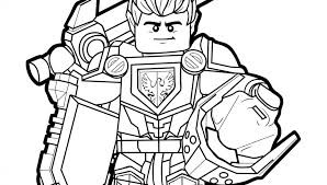 Nexo Knights Coloringes Lego Filee3 Printable Unusual Clay Book Of