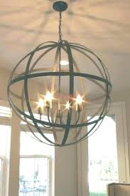 orb light chandelier orb light chandelier wood and metal spherical for vineyard 4 orb light chandelier orb light chandelier