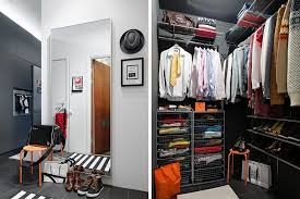 Marvelous Modern Small Walk In Apartment Closet Ideas