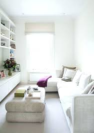 tiny living furniture sofa for tiny living room small living room with white long sofa with