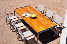 contemporary bench and table set metal wooden outdoor for stainless wood benches indoor