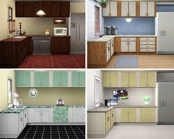 Simple Kitchen Mod The Sims Simple Kitchen Counters Islands Cabinets