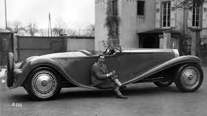 The bugatti type 41 royale is the largest production car ever built. Bugatti Jean Bugatti In Front Of The Only Roadster Facebook