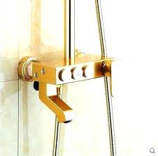 Copper shower fixtures Rubbed Bronze Brushed Gold Shower Fixtures Gold Bathroom Fixtures Copper Shower Fixtures Antique Brass Shower Fixture Golden And Rose Gold Bathroom Vanity Gold Bathroom Abst5rcinfo Brushed Gold Shower Fixtures Gold Bathroom Fixtures Copper Shower