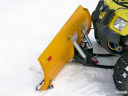 warn atv snow plow product review photos motorcycle usa