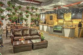 Interior design of AVEM Coffee House