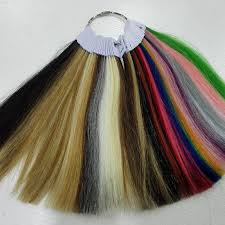 Us 26 99 35 Colors Human Hair Color Ring For All Kinds Of Hair Extensions Color Chart For Tape Tip Hair Extensions In Color Rings From Hair