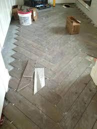 faux wood floor chevron tile bathroom photo 1 of 8 herringbone porcelain diy fake cleaner