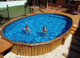 above ground pool deck cost best of decks around ground pools