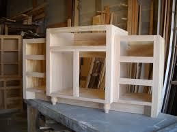 Raising A Bathroom Vanity Woodworking Building A Bathroom Vanity From Scratch Plans Pdf