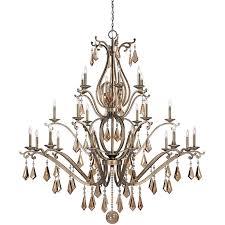 1 8105 24 128 savoy house traditional rothchild 24 light chandelier with oxidized silver finish