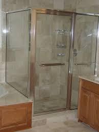 shower doors from glass shower door with metal frame source waysideglass com