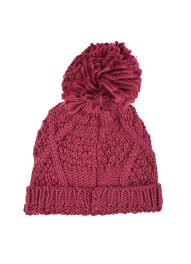 Effie Hat in Berry | Lakeland Leather