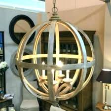 round wood light fixture orb chandelier extra large wooden 4 images small round wood light