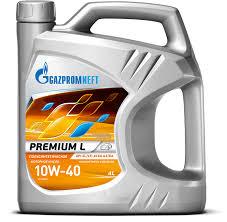 Gazpromneft <b>Premium</b> L 10W-40 - <b>Масло моторное</b> ...