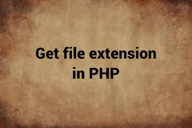 How To Get File Extension In Php Qualitians