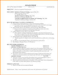 Cover Letter Entry Level Registered Nurse Resume Examples Entry