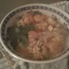 Quick Peruvian Seafood Soup Recipe on ...