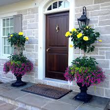 Hibiscus Planters Front Porch Planter Ideas Full Sun Front Porch Container  Ideas Door Ideas