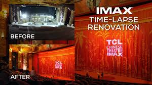 Tcl Chinese Theatre Imax Seating Chart Tcl Chinese Theatre Imax Renovation Time Lapse Video