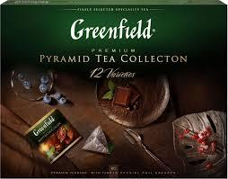 Greenfield <b>Набор 12</b> видов листового чая и чайного напитка в ...