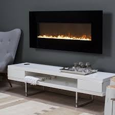 wall mount fireplace warm up any modern decor with the stylish