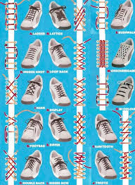 Shoelace Patterns Impressive Different Lace Patterns For Shoes Boots Sneakers Etc Snappy