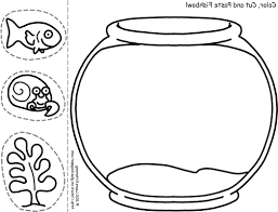 fish bowl clip art black and white. Exellent White Fish Bowl Coloring Page Printable KIDS And Ahmedmagdy Me Arresting Inside Clip Art Black White I
