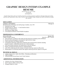 sample resume for internship position gallery creawizard com