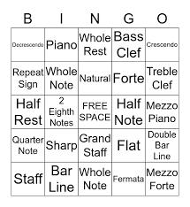 The decrescendo or diminuendo symbol is like the crescendo symbol, but reversed. Music Symbol Bingo Card