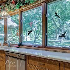 Gardigo Vogelschutz Aufkleber I Vogelsilhouetten I Für Fenster