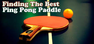11 Best Ping Pong Paddle Reviews 2018 Beginners To Pros