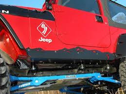 kit jeep wrangler tj rock sliders d i y