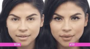 before and after beauty gif by nyx professional makeup