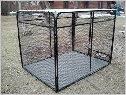 outdoor dog kennel flooring home decorating ideas