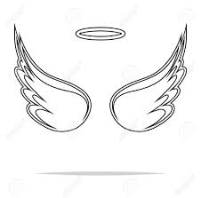 Vector Wings Stock Illustrations Cliparts And Royalty Vector Angel