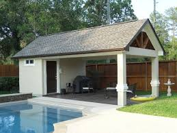 Models Pool House Ideas Houses And Cabanas Good Life Outdoor Living Intended Impressive Design
