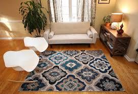 blue living room area rugs