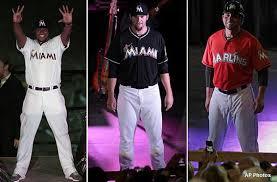 Uniforms Unveil Miami Their New Marlins