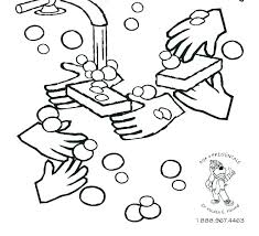 hand washing coloring pages germ page cute free printable colouring sheets for handwashing washing hands coloring page