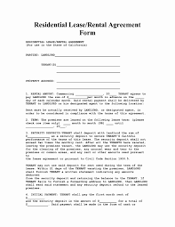 Rental Lease Agreements 24 New Rental Lease Agreement Arizona Worddocx 12